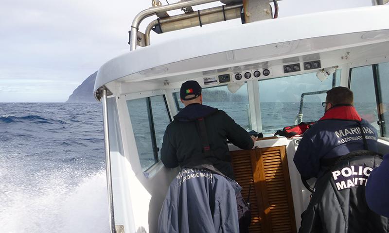 resgate veleiro Corvo2